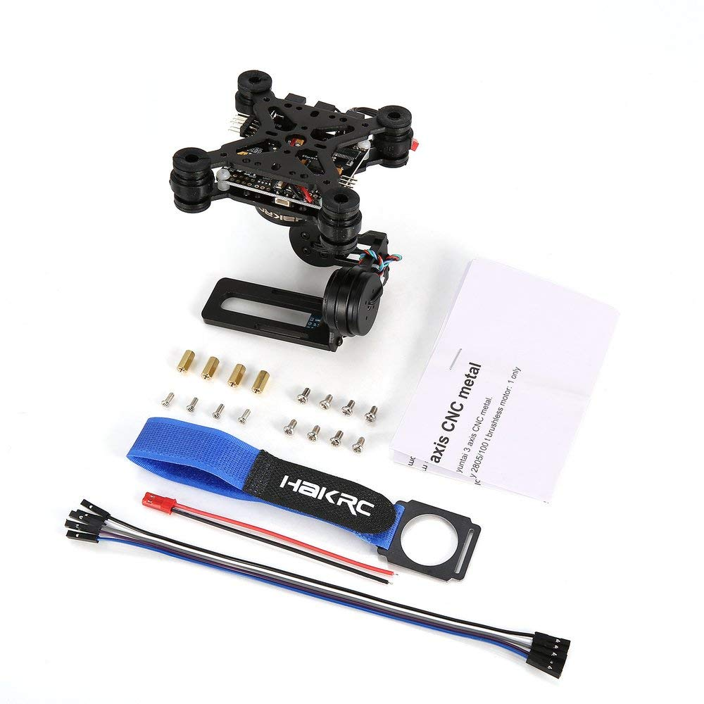 FDBF Gimbal Brushless a 3 Assi Gimbal per Drone Gopro3   4 DJI Phantom