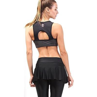 myglory77mall Women Push up Sports Bra Gym Running Yoga Bra Vest Padded Tshirt1