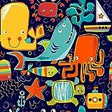 Ocean Friends Gift Wrap Roll - 24'' x 16'