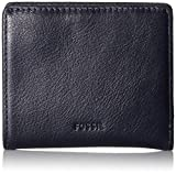 Fossil Women's Emma RFID Mini Wallet, Midnight Navy, One Size