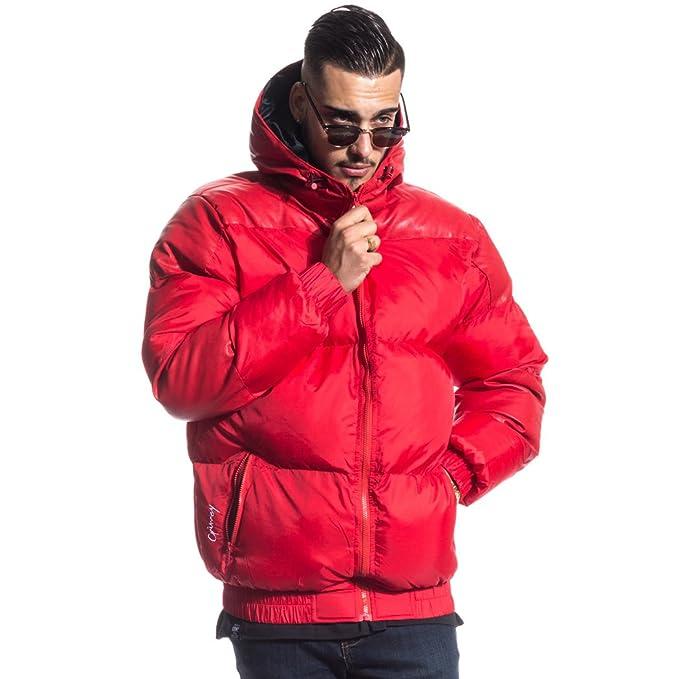 Grimey Chaqueta Natural Puffy Jacket FW16 RED-3XL: Amazon.es: Ropa y accesorios