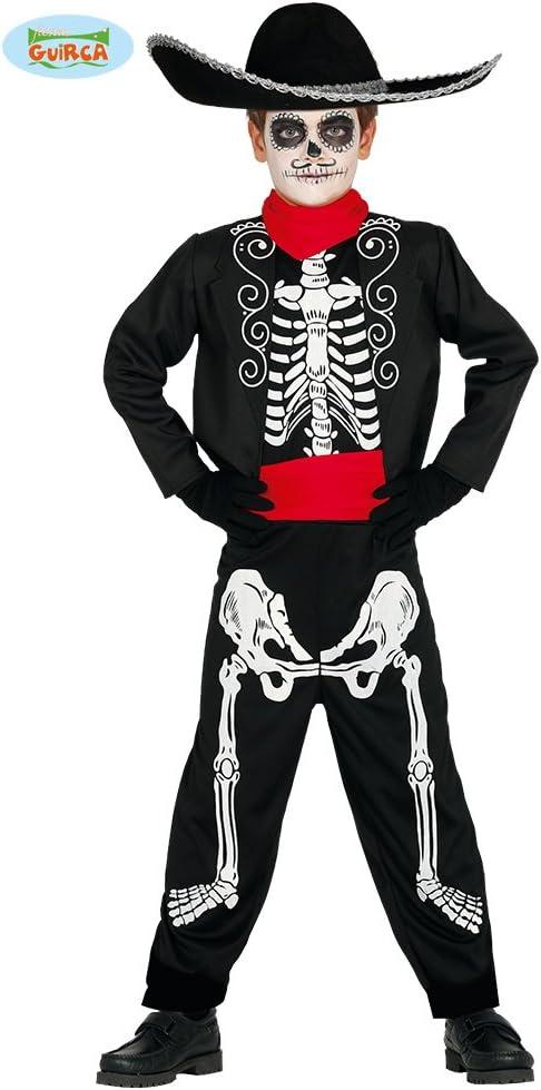 Guirca 87440 - Mariachi Skeleton Infantil Talla 10-12 Años: Amazon ...