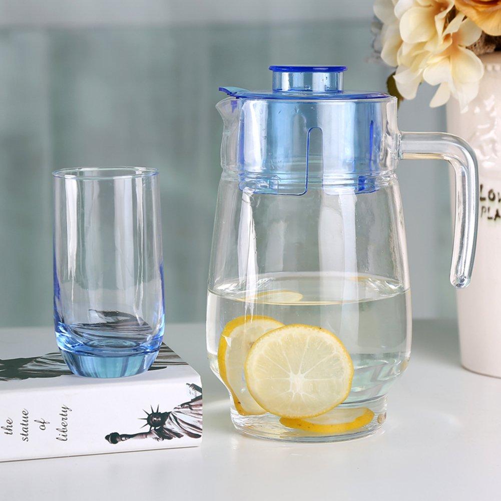 Xwuhan Europäische Kreative Trinkwasser Ware Festgelegt Haushalt Wasser Glas-Set-A