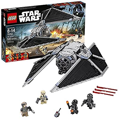 Lego Year 2016 Star Wars Rebels Series Set #75154 - TIE STRIKER with TIE Pilot, Imperial Ground Crew, Imperial Shoretrooper and Rebel Trooper Minifigure (Pieces: 543)