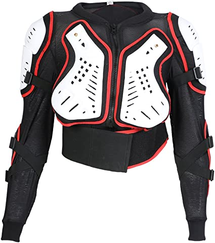 photos officielles matériaux de haute qualité prix réduit Texpeed Veste avec Protection Dorsale - Enfant - pour Moto/Sport - Toutes  Les Tailles