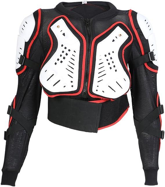 Moto Enfants Armure Veste de Protection XTRM Edge Enfant Corps Armour Neuf Gilet de Protection VTT MX Kart Motocross Quad Racing Tout-Terrain pour LT PW Sport CE Protection Homologue