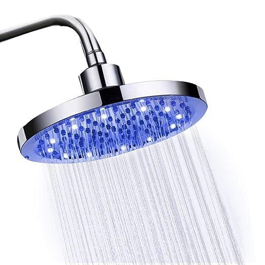 Alcachofa de ducha redonda de 20 cm para baño, alcachofa de ...