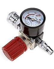 "New 1/4"" Air Compressor 180PSI Pressure Regulator Gauge Regulating Control Valve"