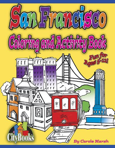 San Francisco Coloring and Activity Book (City Books)