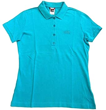 The North Face Mujer Polo Tailliertes Polo Piquet Camiseta ...