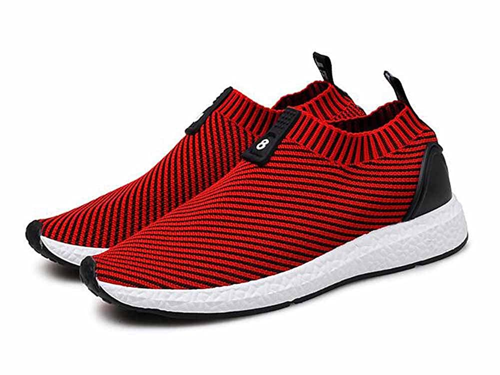 19e3deee6fac Men Running Shoes 2017 Autumn New Elastic Shoes Breathable Youth Low Top  Casual Sports Shoes  Amazon.co.uk  Shoes   Bags