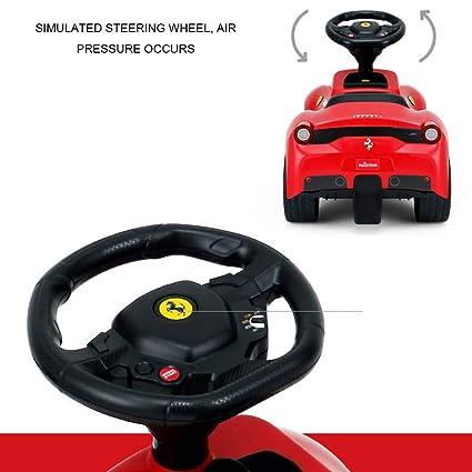 Los niños de cuatro ruedas giran en ABS música de coche ...