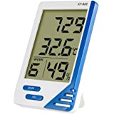 Tongji Digital Hygrometer Thermometer Indoor and outdoor Humidity Monitor with Temperature Gauge Humidity Meter