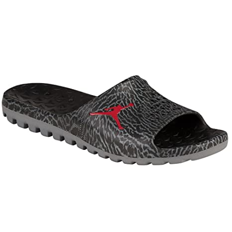 premium selection 7788c 27d5a Nike Men's Jordan Super Fly Team Slide (7 D(M) US, Black/Gym RED-Cool  Grey): Amazon.ca: Sports & Outdoors
