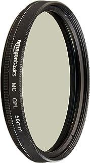 AmazonBasics Circular Polarizer Filter  58 mm