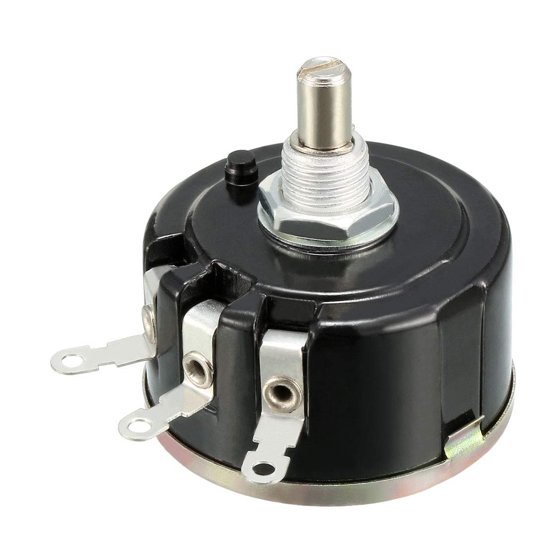 uxcell 4K7 Ohm Variable Resistors Single Turn Rotary Carbon Film Potentiometer W Knobs