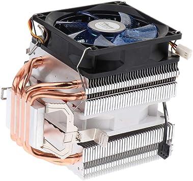 Sharplace Refrigerador de CPU Aluminio con Tubos Disipador Calor ...