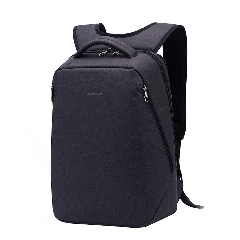 Amazon.com  KOPACK Anti Theft Laptop Backpack Travel Backpack Bag for Men  Women Water Resistant Lightweight Fit 14.1 Most 15 Inch Laptop Notebook  Black  ... 803c38be218e2
