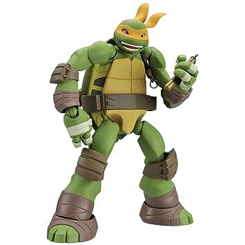 Revoltech Mutant Ninja turtles Michelangelo 120 mm ABS-&PVC ...