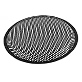 Uxcell a16060400ux0129 10'' Car Audio Speaker Mesh Sub Woofer Subwoofer Grill Dust Cover Protector