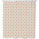 Uneekee Pillow Dots Shower Curtain: Large Waterproof Luxurious Bathroom Design Woven Fabric