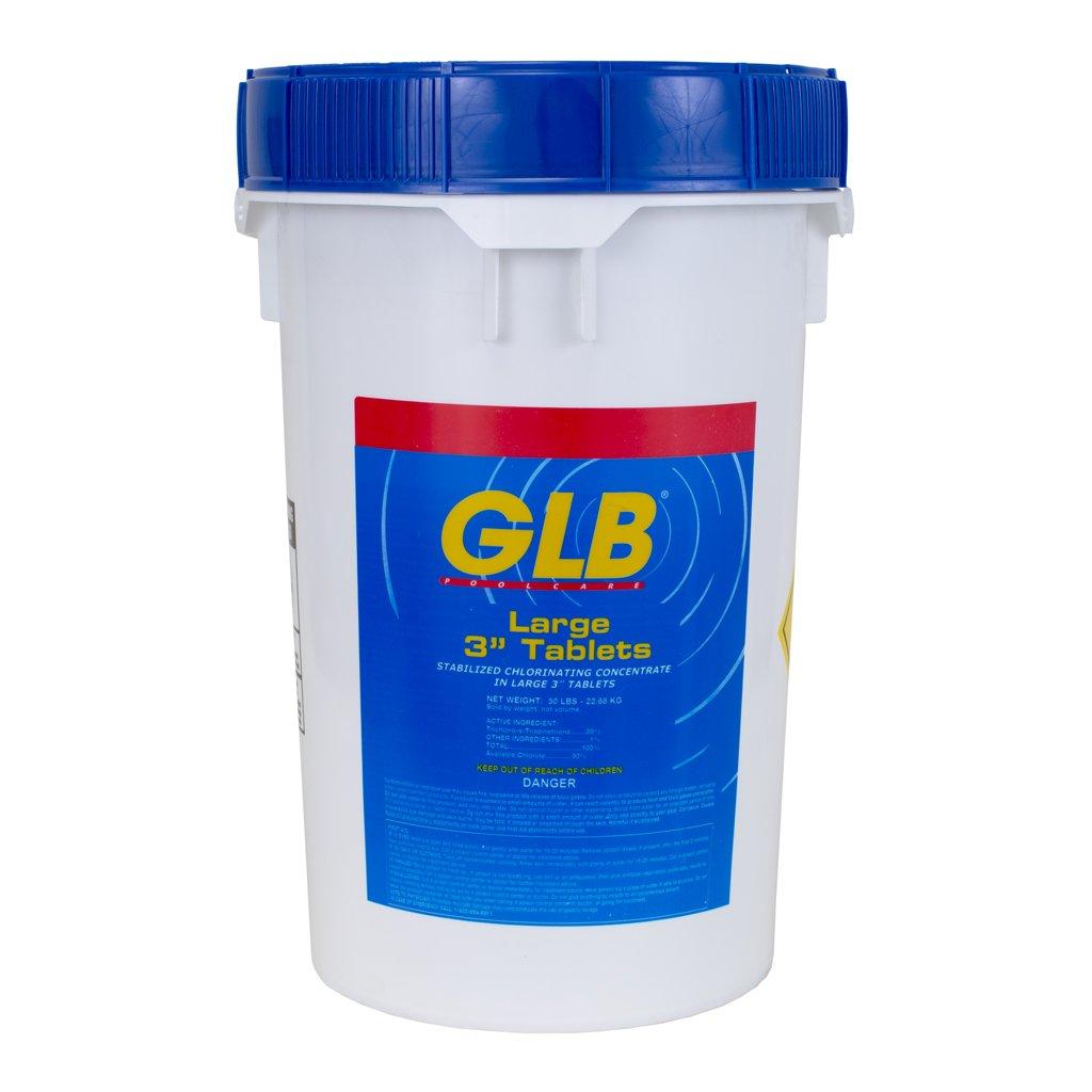 Advantis Tech 71231 GLB 3 in. Chlorinating Tablets, 50 lbs by GLB