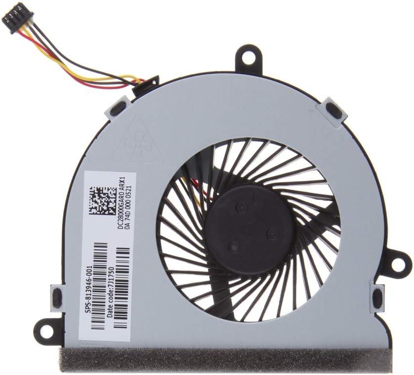 Ventilador De Enfriamiento para CPU De Computadora Portátil para HP 15-A, 15-BS, 15-AC, 15-AF, 15-AY 4-Wire