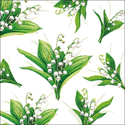 4 Paper Napkins for Decoupage - 3-ply, 33 x 33cm - Lily (4 Individual Napkins for Craft and Napkin Art.) Tigers on the Loose