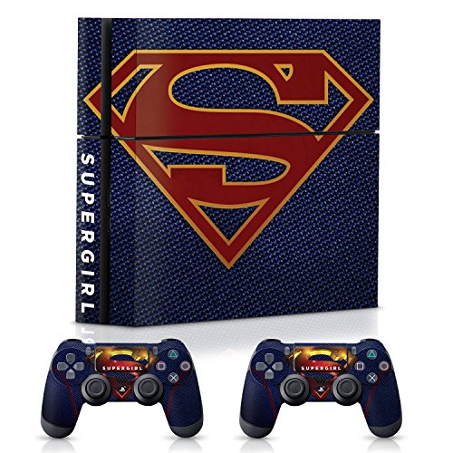 Controller Gear WB Supergirl Suit, Official Console & Controller Skin Combo Set - PlayStation 4 Combo Suit