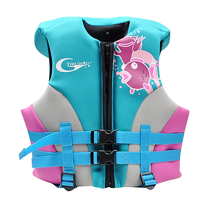 Hony Chaleco de Natación Flotador para Chicos Chicas - Niñito Trajes de Baño Entrenamiento de Natación Chaqueta Inflable para Niño Aprender a Nadar Unisexo ...
