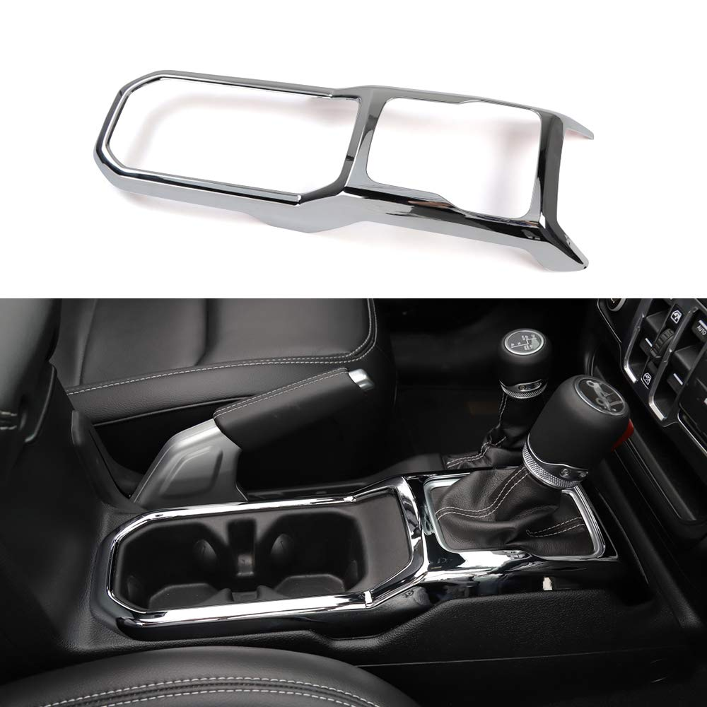 BORUIEN Interior Mouldings for Jeep Wrangler JL 2018 Up Red Car Roof Speaker Ring Decoration Sticker for Jeep JL 2018 Wrangler