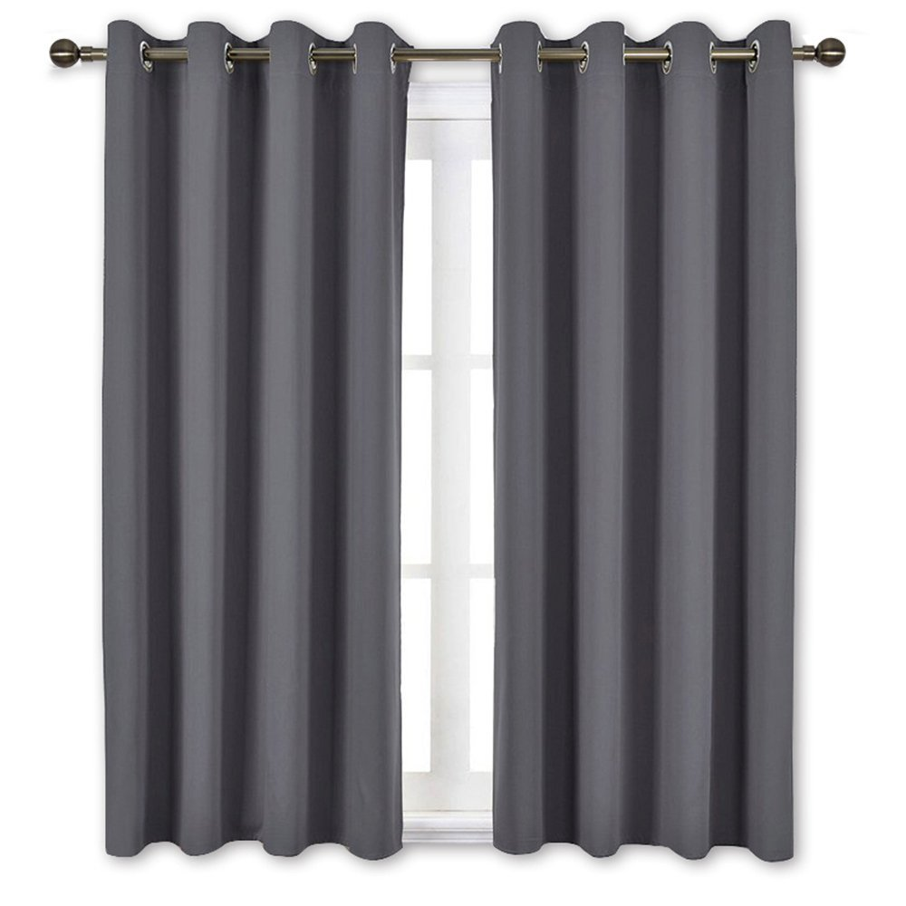 Nicetown Bedroom Blackout Curtains Panels Window Treatment Thermal