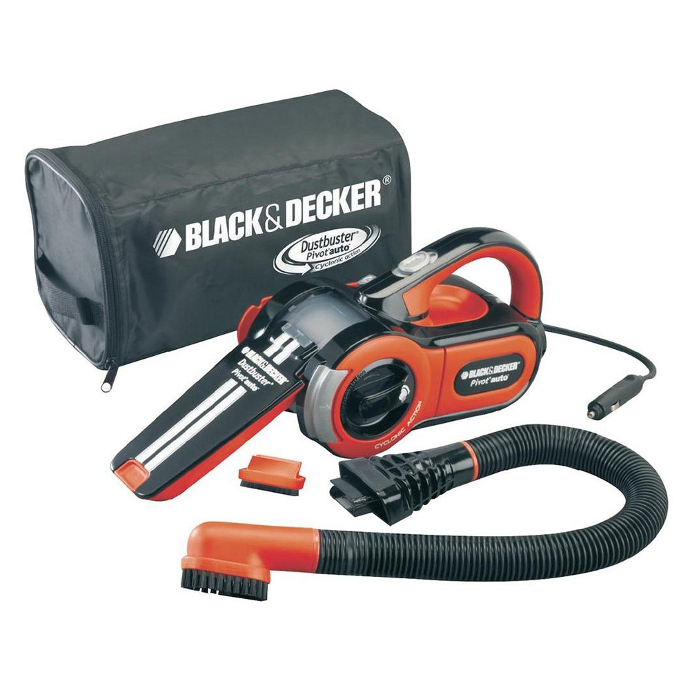 Black & Decker PAV1205V Pivot Auto Handstaubsauger Handsauger mit 12 V Anschluss