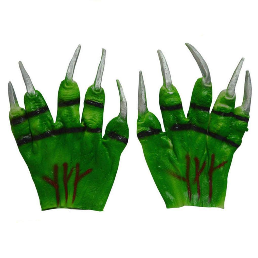 Scary Halloween, Anboo 1 PC Halloween Gloves CosPlay Terror Gloves (65)