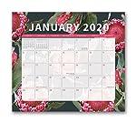 Orange Circle Studio 2020 Do It All - Calendario de pared magnético, 2019-2020, Floral Expressions