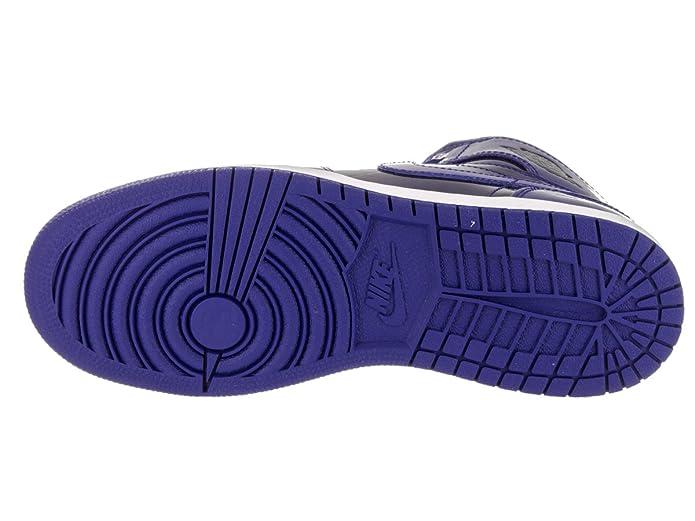 new products 19862 09c4a Amazon.com   Nike Air Jordan 1 Retro High Basketball Shoe Boys Fashion- Sneakers bstn 705300-420 6Y - Deep Royal Blue Black White   Basketball