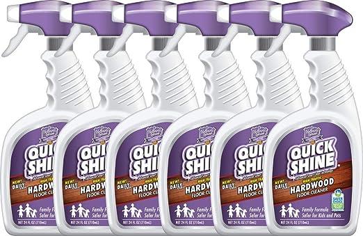 Amazon Com Quick Shine Daily Hardwood Floor Cleaner 24 Fl Oz 6