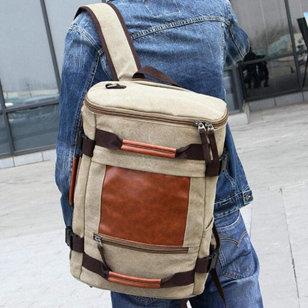 Amazon.com: Large Capacity Backpack Men Luggage Travel Bag Laptop Back Pack Men Functional Versatile Male Bag: Computers & Accessories