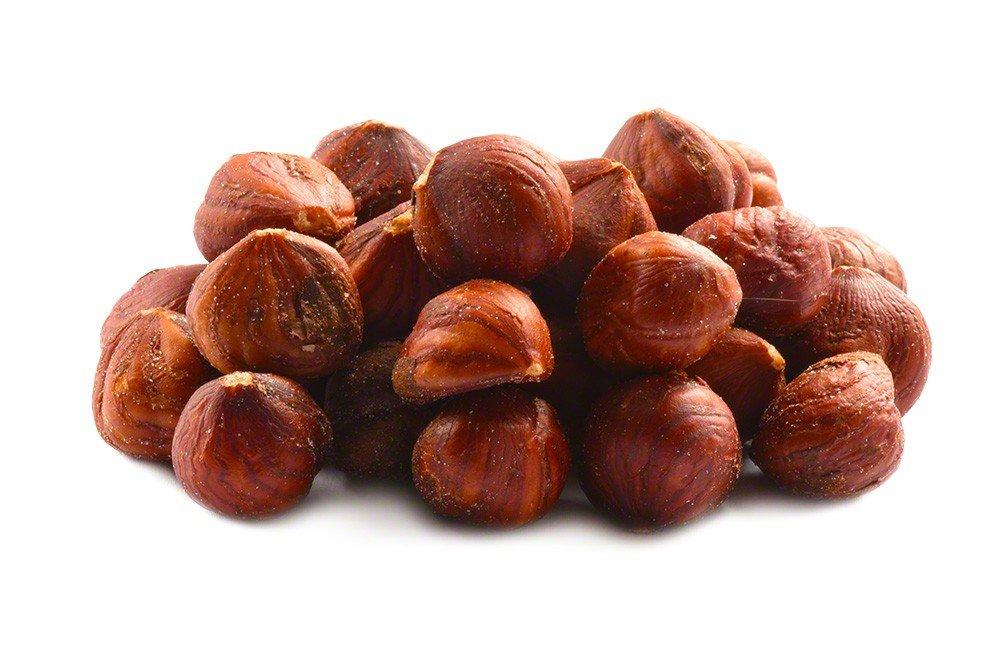Roasted Salted Hazelnuts - 1lb Bag of Salted Hazelnuts/Filberts