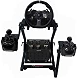 GT Omega Racing Wheel Stand for Logitech G920 G29 G923 Driving Force Gaming Steering Wheel, Pedals & Gear Shifter Mount V2, P