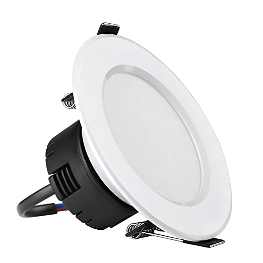 Le 8w 90mm led recessed ceiling lights 75w halogen bulb equivalent le 8w 90mm led recessed ceiling lights 75w halogen bulb equivalent warm white aloadofball Choice Image