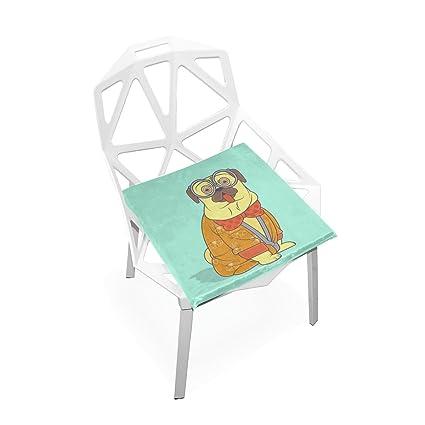 Amazon.com: Plao asiento de cojín suave anteojos divertido ...