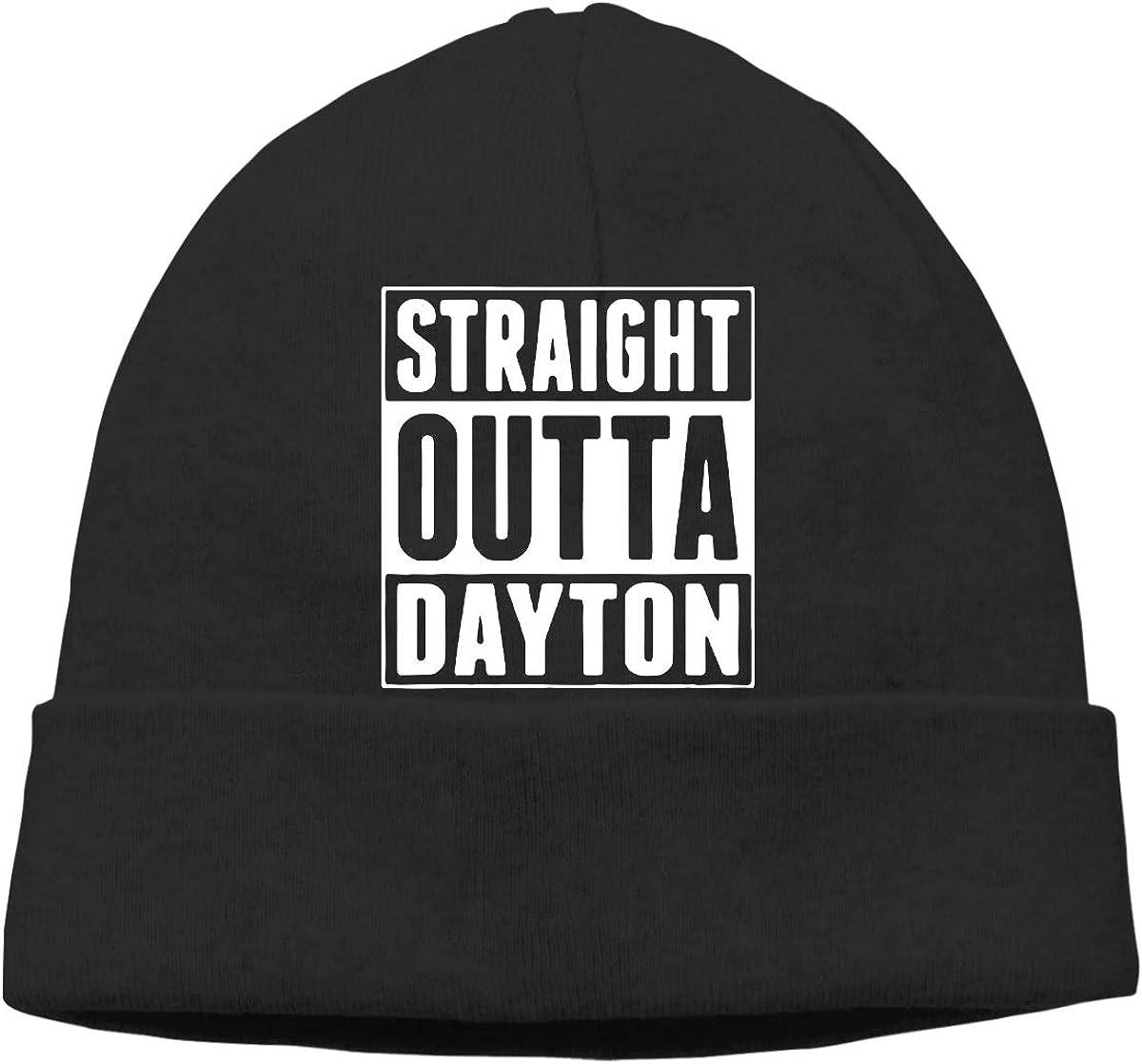 GDSG5/&4 Straight Outta Dayton Unisex Sweat Wicking Cycling Beanie Cap