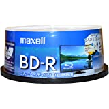 maxell 録画用 BD-R 標準130分 4倍速 ワイドプリンタブルホワイト 30枚スピンドルケース BRV25WPE.30SP