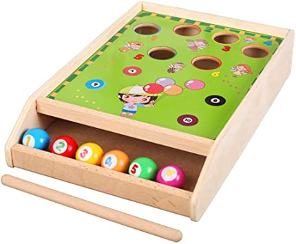 REAYOU Divertido Juego de Billar Deluxe Table Top Pool Game ...