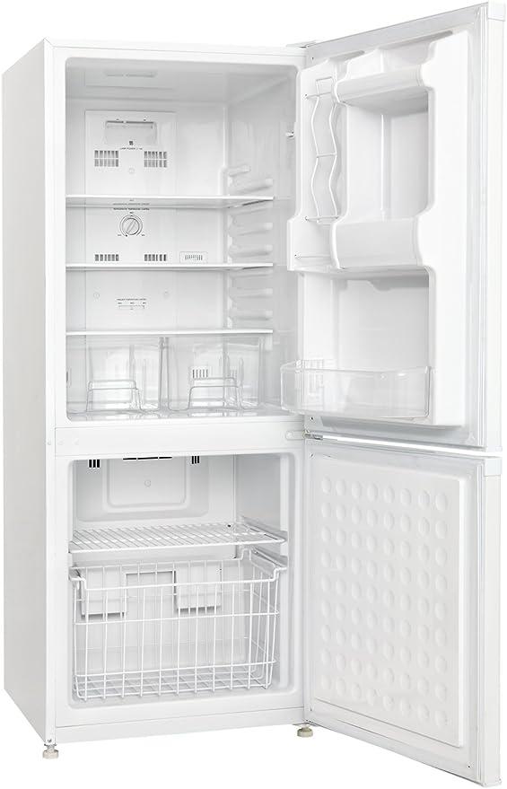 Amazon.com: Congelador sin escarcha con congelador superior ...