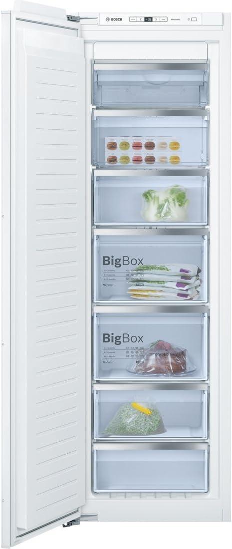 Bosch Serie 6 GIN81AC30 Integrado Vertical 211L A++ Blanco ...