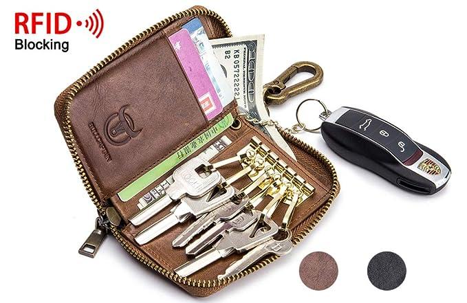 Amazon.com: BULLCAPTAIN - Llavero con 6 ganchos para llaves ...