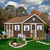 Best Barns Fairview 12' X 16' Wood Shed Kit