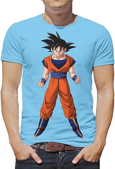 CCL88 Goku Angry - Camiseta de Manga Corta para Hombre ...